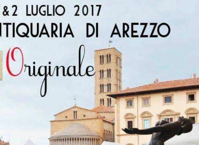 1 & 2 luglio 2017: Edizione ORIGINALE della Fiera Antiquaria di Arezzo!