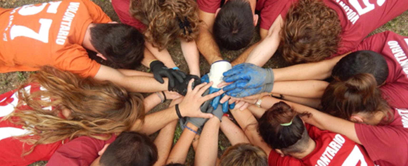 Campi di volontariato per MINORENNI