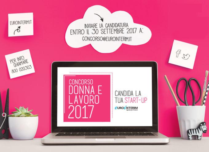 Concorso nazionale Donna e Lavoro Startup 2017