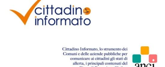 Protezione Civile Comunale: arriva l'app Cittadino Informato