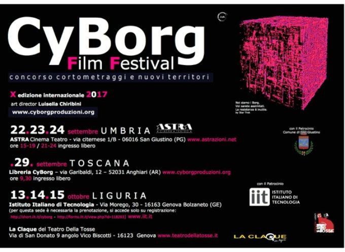 CyBorg Film Festival 2017 – concorso cortometraggi e nuovi territori