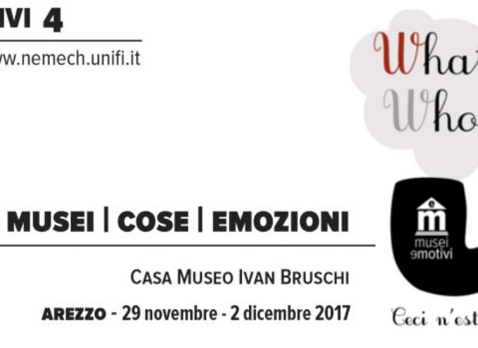 Training formativo MuseiEmotivi presso la Casa Museo Ivan Bruschi