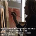 locandina corsi Bottega d'Arte