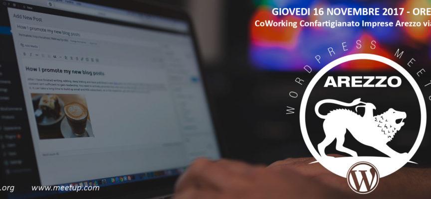 1° Meet Up WordPress ad Arezzo