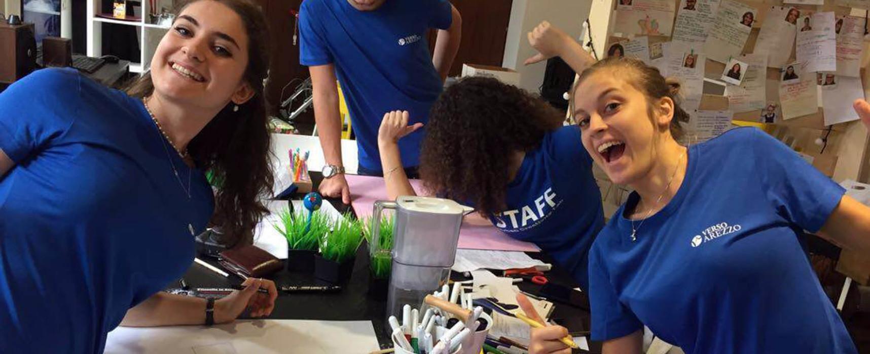 VERSO Arezzo: I giovani aretini protagonisti del nuovo Urban Creativity Lab