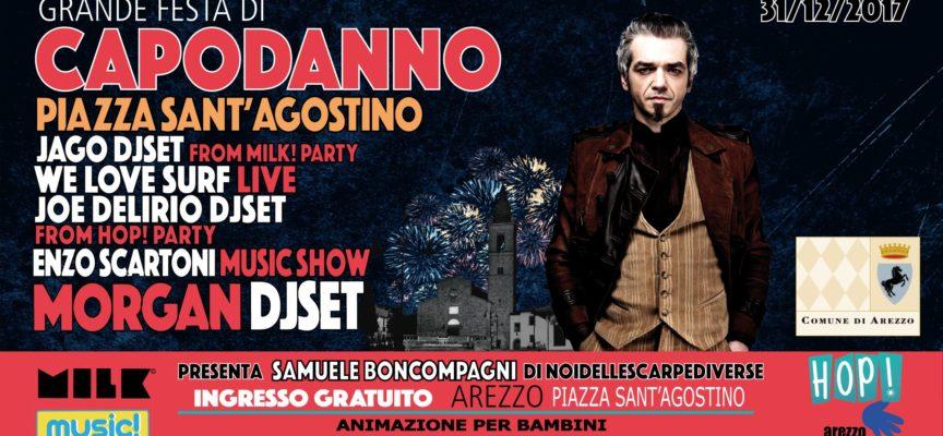 Grande festa dell'ultimo dell'anno in piazza Sant'Agostino con ospite Morgan