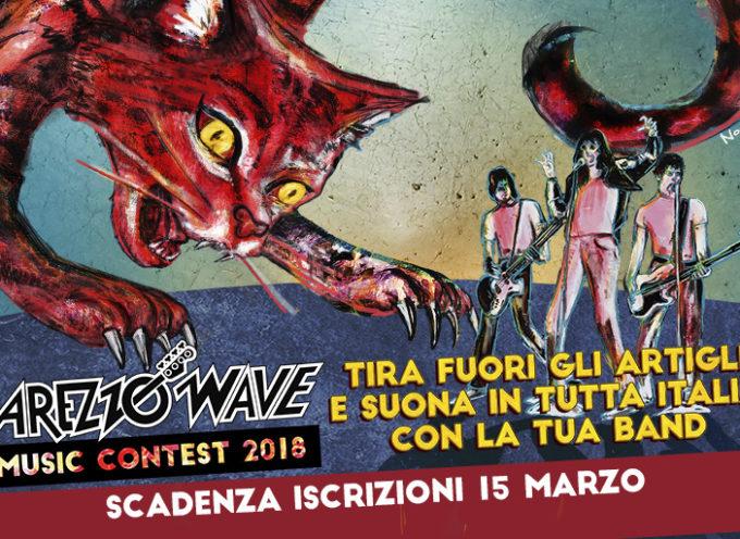 Arezzo Wave Contest 2018: Aperte le iscrizioni!