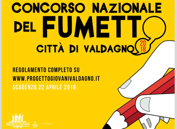 CONCORSO NAZIONALE DEL FUMETTO CITTA' DI VALDAGNO – 6° edizione, anno 2018