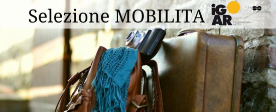 iGAR Selezione di opportunità di mobilità in Europa MAGGIO 2018