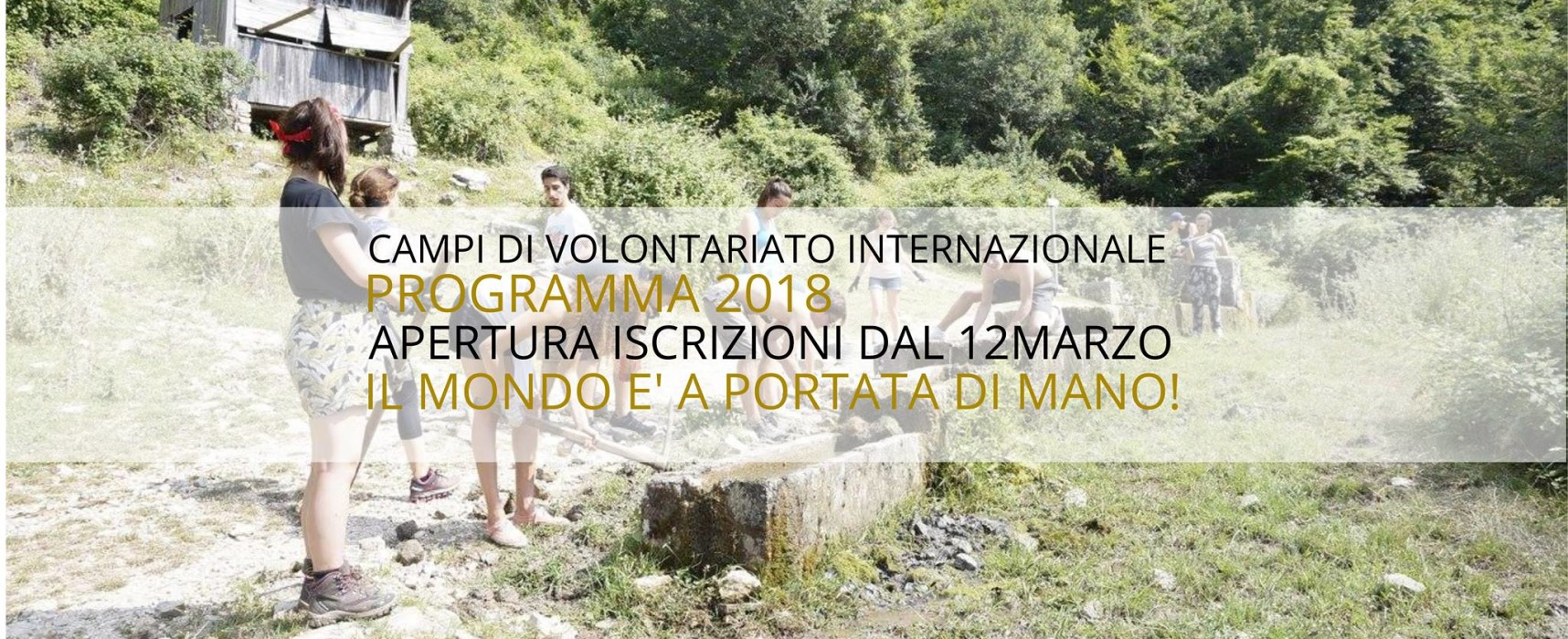 Workcamps internazionali Lunaria 2018
