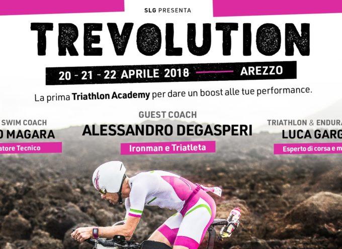 TREVOLUTION prima edizione di Triathlon Academy ad Arezzo 20-21-22 aprile 2018