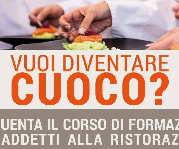 CONFCOMMERCIO: Corso Addetto all'approvvigionamento della cucina, conservazione e trattamento delle materie prime e alla preparazione dei pasti