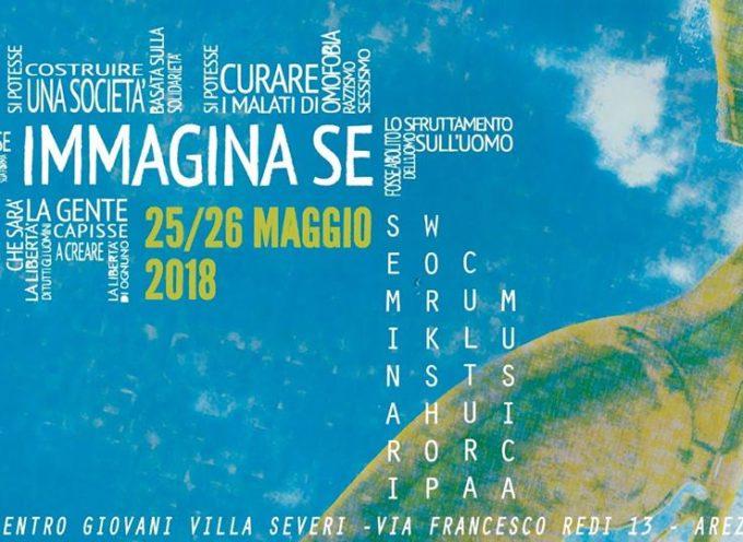 Immagina Se: mini-festival di grande inclusione – Villa Severi 25-26 Maggio 2018