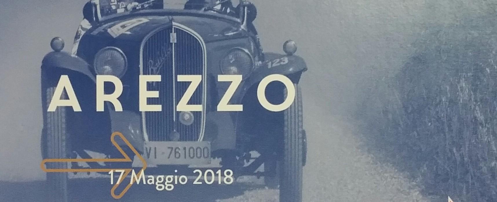Giovedì 17 maggio rombano i motori: la 1000 Miglia fa tappa ad Arezzo