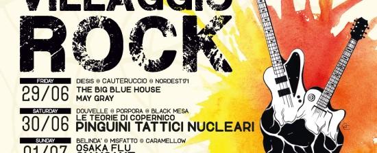 VILLAGGIO ROCK 2018 LIVE MUSIC FESTIVAL – Castiglion Fiorentino (AR) QUINTA edizione