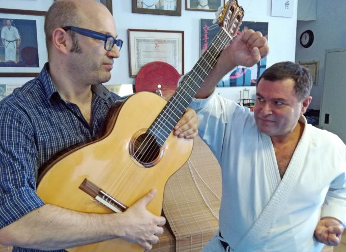 Hombu Dojo e Proxima Music unite nei campi solari di karate sound