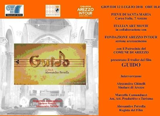 Un film su Guido d'Arezzo girato interamente in città