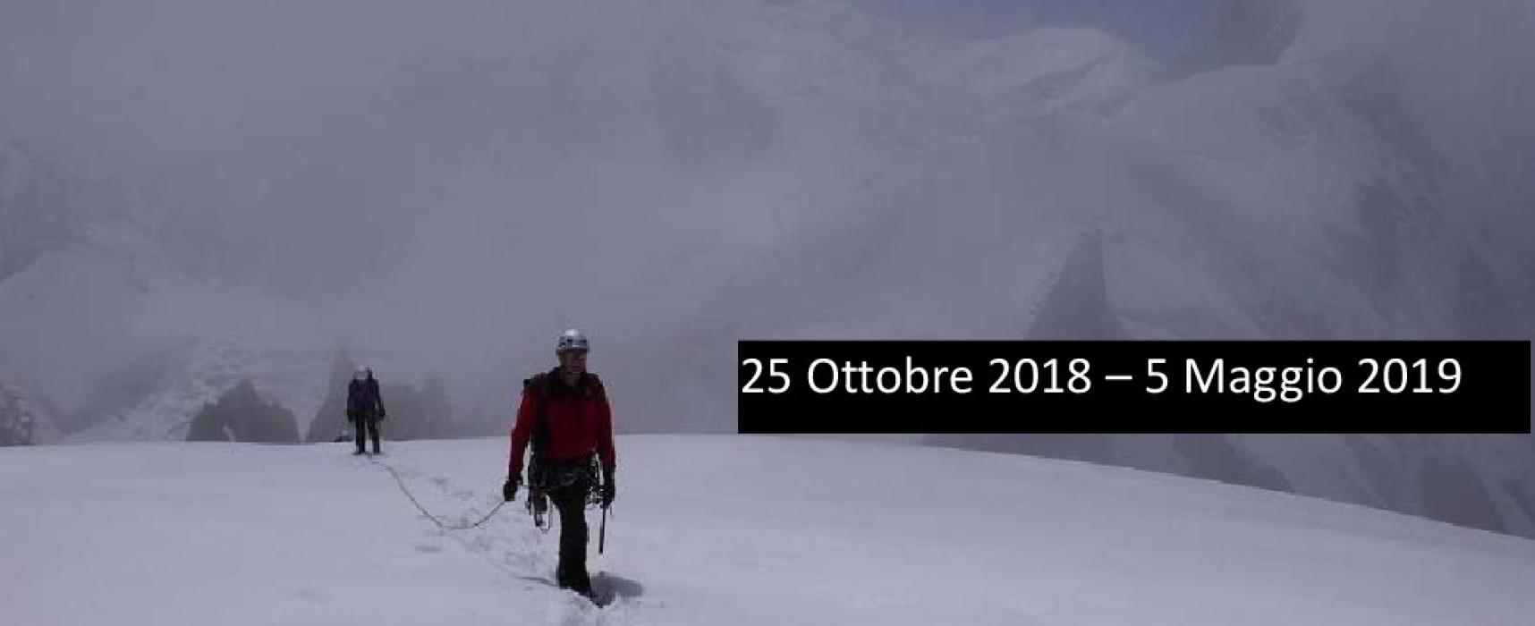 Corso di Alpinismo di base livello A1 in partenza ad Arezzo