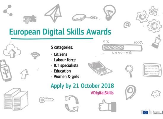 European Digital Skills Awards 2018