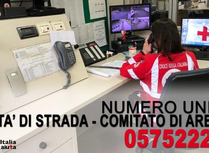 Comitato di Arezzo della Croce Rossa Italiana è tornato ad impegnarsi a favore di clochard e senzatetto