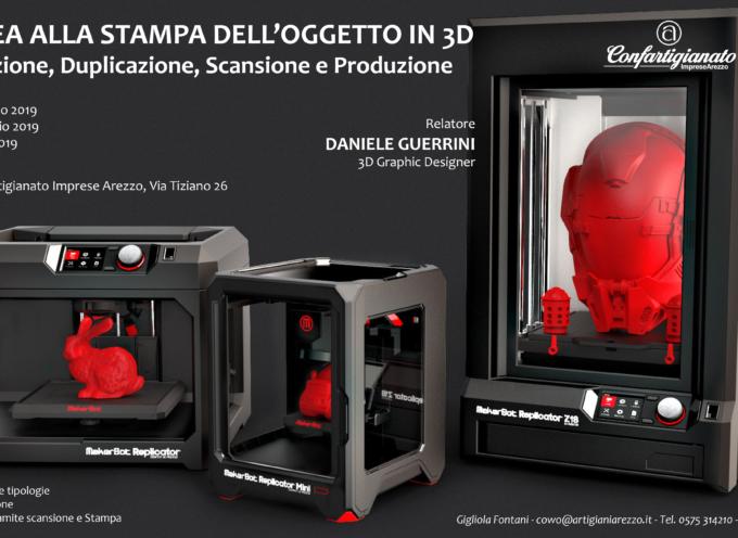 Dall'idea alla stampa dell'oggetto in 3d