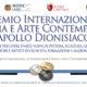 """Premio Internazionale di Poesia e Arte Contemporanea """"Apollo dionisiaco"""" 2019"""