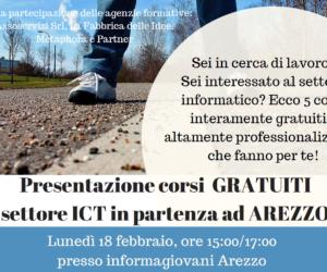 Presentazione@IG di 5 corsi GRATUITI nel settore Informatico!!