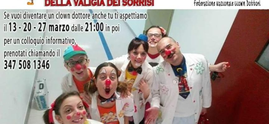 Nuovo corso per Clown dottori in partenza!!