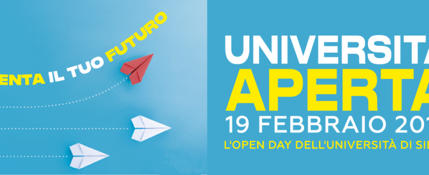 """""""Università aperta"""", martedì 19 febbraio ad Arezzo appuntamento con l'open day nel campus del Pionta"""