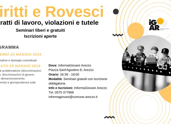 """""""Diritti e Rovesci: contratti di lavoro, violazioni e tutele"""" Seminario @Informagiovani, iscriviti!"""