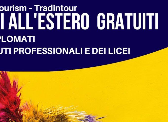 """Tirocini di formazione all'estero """"Tradintour – Sviluppare le competenze per il turismo locale e della tradizione"""" – Scad: 31/07/2019"""