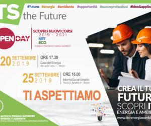Mercoledì 25 settembre ad Informagiovani: presentazione ITS NET ENERGY TECH