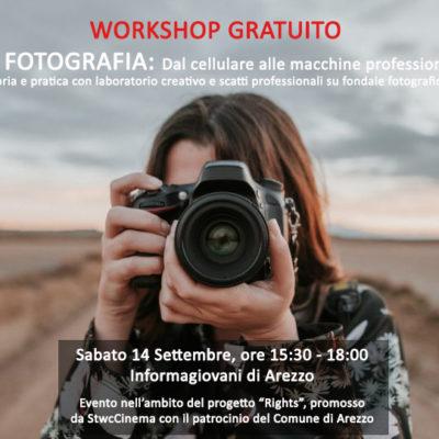 workshop gratuito fotografia @Informagiovani