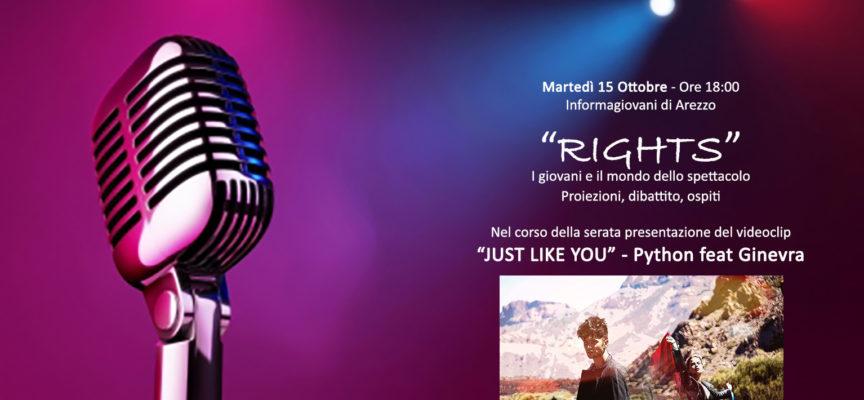 Progetto RIGHTS: presentazione ad InformaGiovani del progetto realizzato con il contributo del Bando per le attività giovanili del Comune di Arezzo