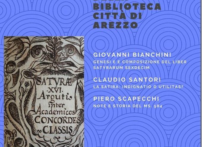 Un manoscritto ritrovato e restaurato: il MS. 584 della biblioteca città di Arezzo