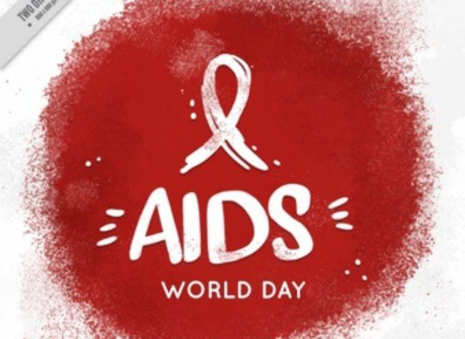 1° dicembre 2019 ad InformaGiovani: l'Ass. Aiuto Sieropositivi promuove varie iniziative legate alla Giornata Mondiale Prevenzione HIV e AIDS