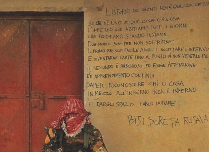 """""""Omaggio a Rojava"""" sabato 4 gennaio, ore 17:00 Libreria Feltrinelli Arezzo"""