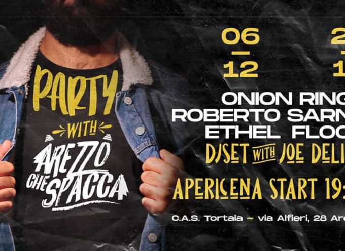 """Band aretine sul palco al circolo sociale Tortaia al """"Party with Arezzo che Spacca"""""""
