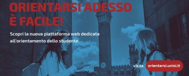 OrientarSi: nuovo sito dell'Università di Siena per orientarsi