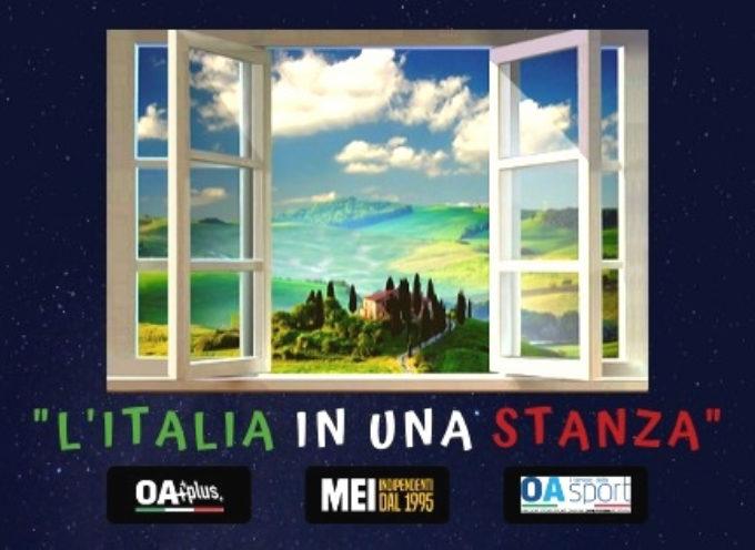 L'Italia in una stanza: sabato 4 e domenica 5 aprile cantanti, sportivi, giornalisti ed artisti insieme in diretta streaming contro il Coronavirus