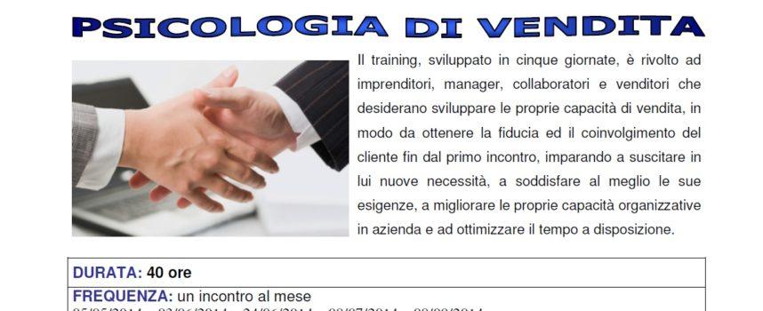 Corsi gratuito di Psicologia di vendita – Confcommercio Arezzo