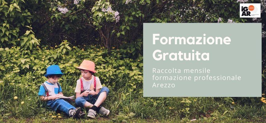 iG/AR formazione professionale GRATUITA: raccolta maggio 2021 Arezzo
