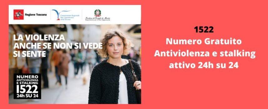 1522: numero antiviolenza e stalking