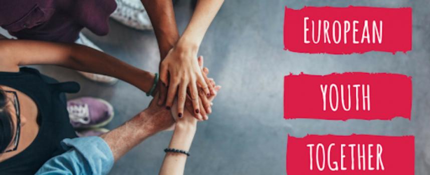 Erasmus+: European Youth Together bando rivolto alle associazioni giovanili europee