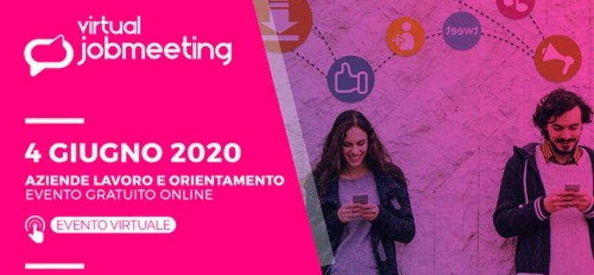 Virtual jobmeeting: fiera lavoro e orientamento online e gratuito – 4 giugno 2020