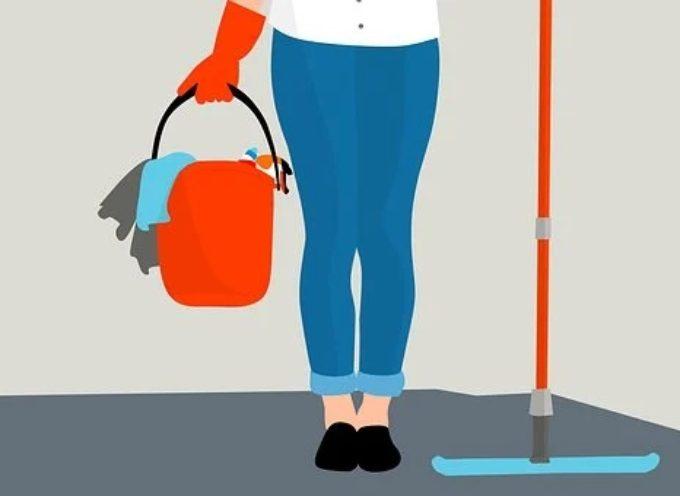 Corso online e gratuito rivolto ai disoccupati per addetto alle pulizie