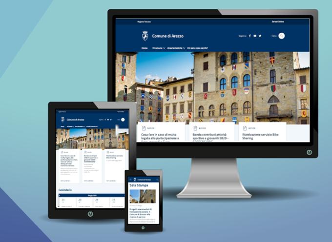 Comune di Arezzo online il nuovo sito! 28 maggio, ore 10.00 conferenza stampa di presentazione
