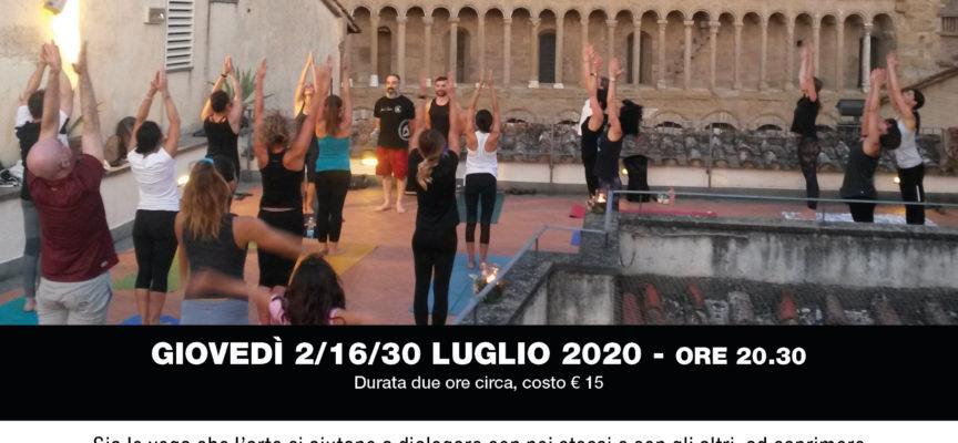 YOGA ad ARTE: appuntamenti di yoga sulla terrazza della Casa Museo di Ivan Bruschi