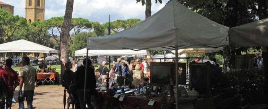 Comune di Arezzo: torna la Fiera Antiquaria da giugno, luglio e agosto al Prato