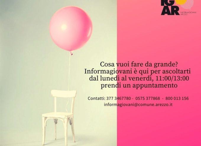 Informagiovani Arezzo: vi aspettiamo tutte le mattine per i consueti colloqui di orientamento e consulenza individuali